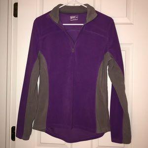 Alpine Design purple & gray fleece